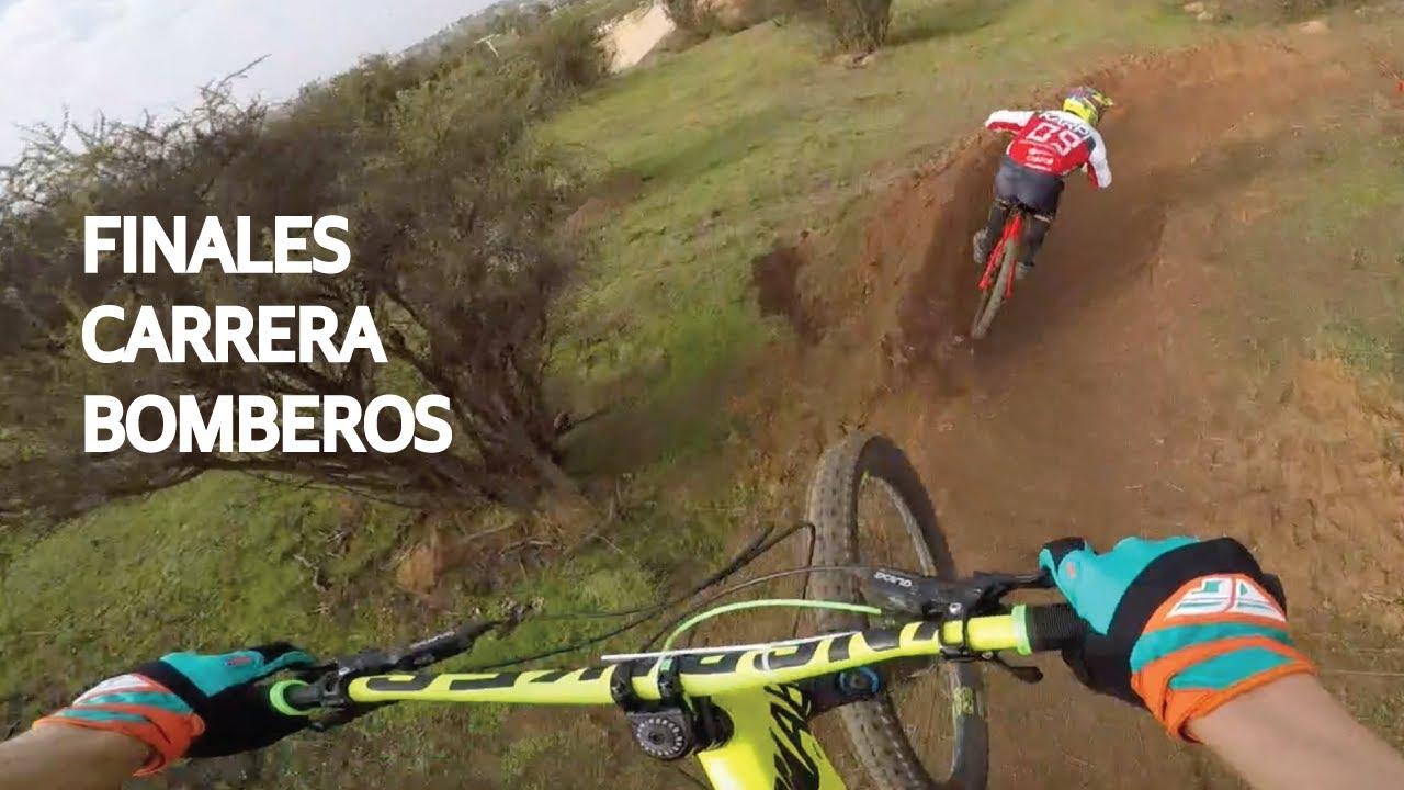 Carrera de Bicicletas en Beneficio a Bomberos! Finales de Mountain Bike con la Valentina!