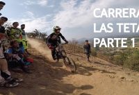 Carrera de Mountain Bike Downhill en Las Viñas! Parte 1/2!