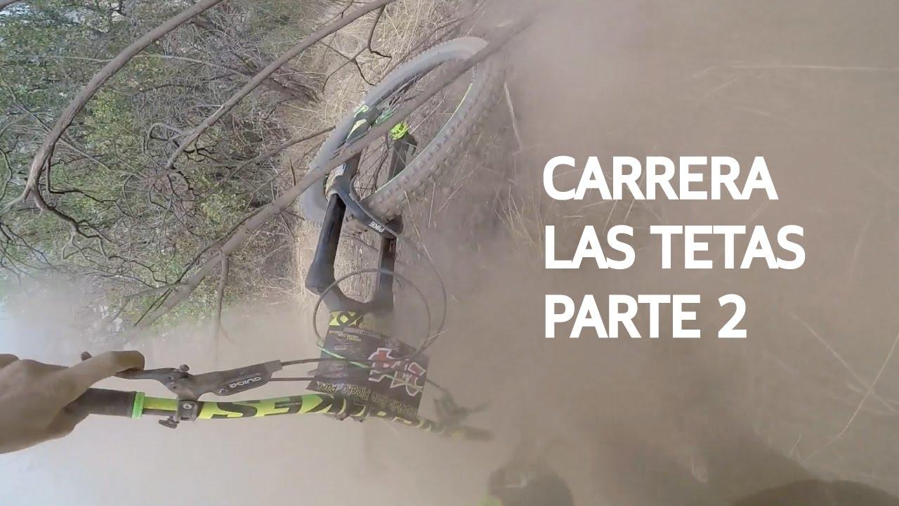 Carrera de Mountain Bike en Las Viñas! Caídas Haciendo Downhill en Bicicleta!
