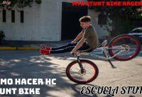 Como Hacer HC /MTB Stunt Bike/ Escuela Stunt 1#