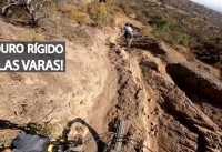Downhill en Bicicleta Rígida y en Doble Suspensión con Erich! Enduro Mountain Bike!