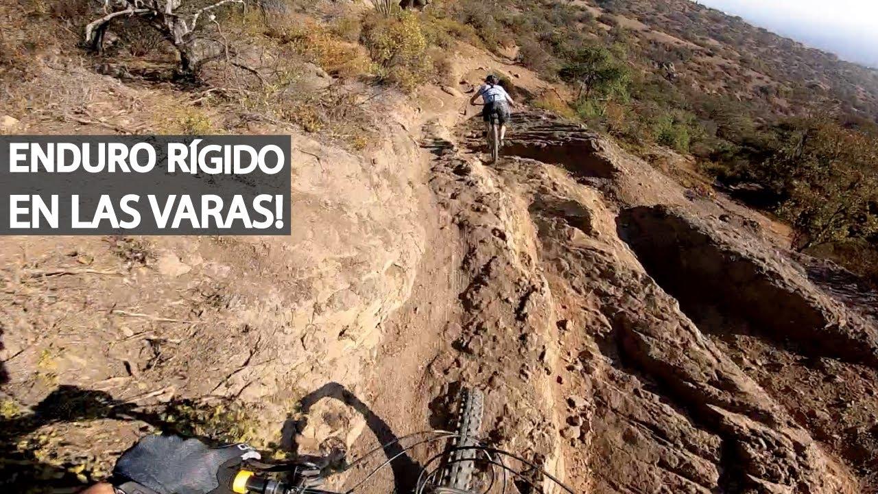 Downhill en Bicicleta Rígida y en Doble Suspensión con Erich! Enduro Mountain Bike!