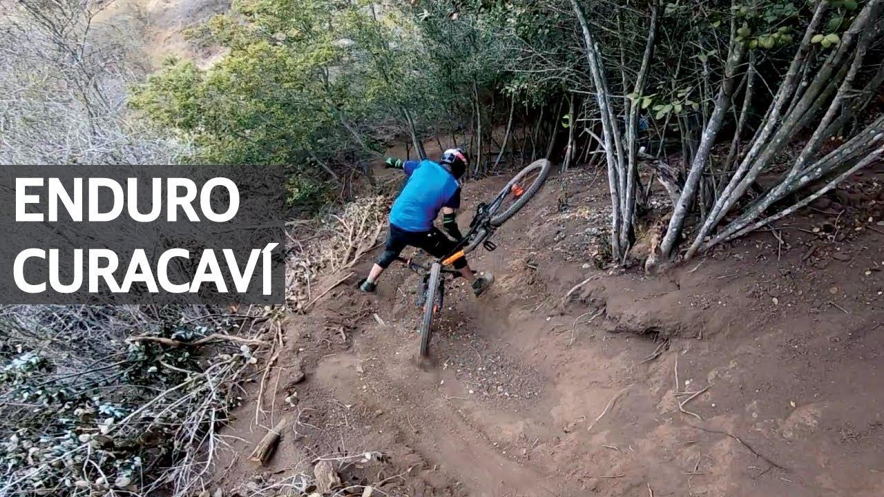Enduro en la La Polygon T8 en Curacaví! Mountain Bike, Saltos, Caídas en Bicicleta y Consejos!