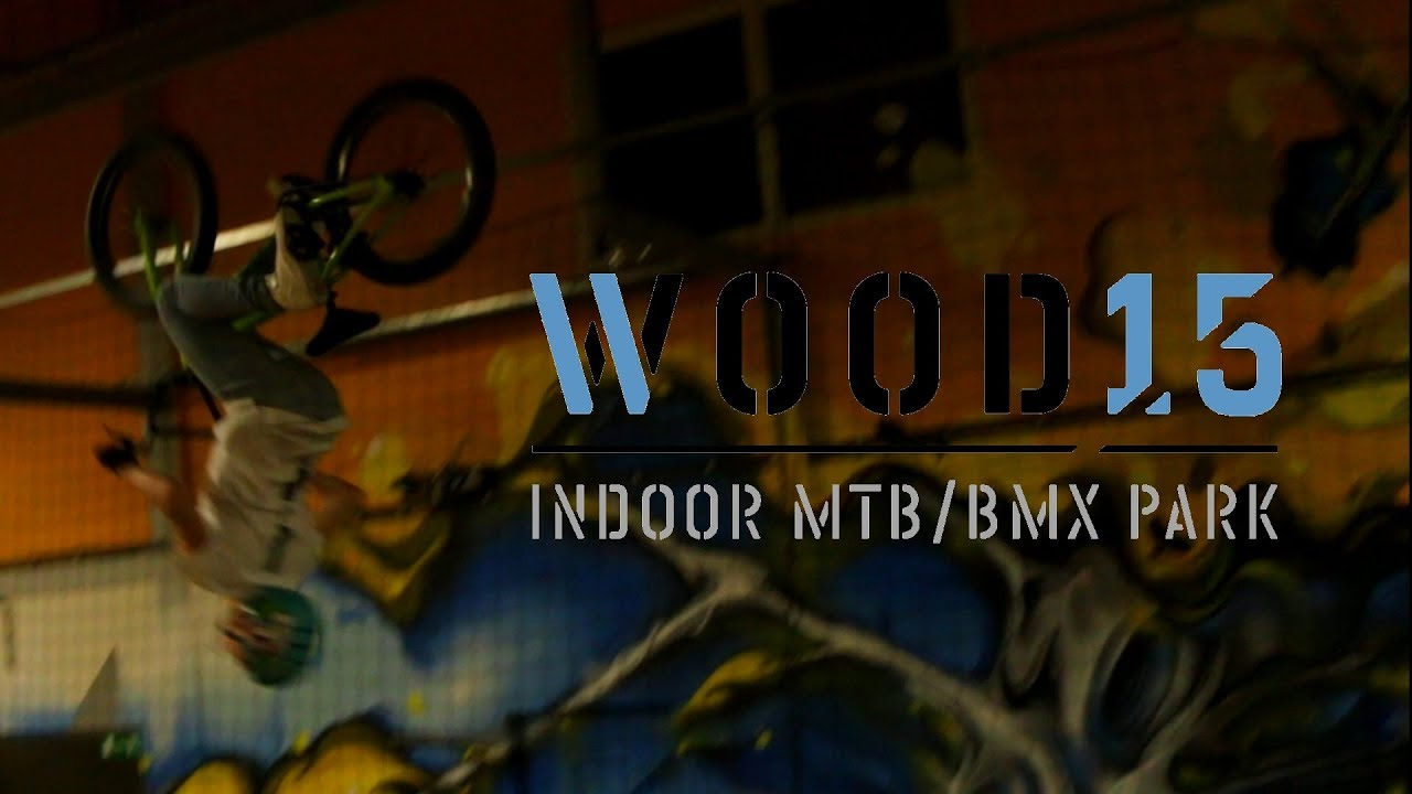 FLIPS IN WOOD 15! // BMX RACE VENLO (Jelle Bokelmann)