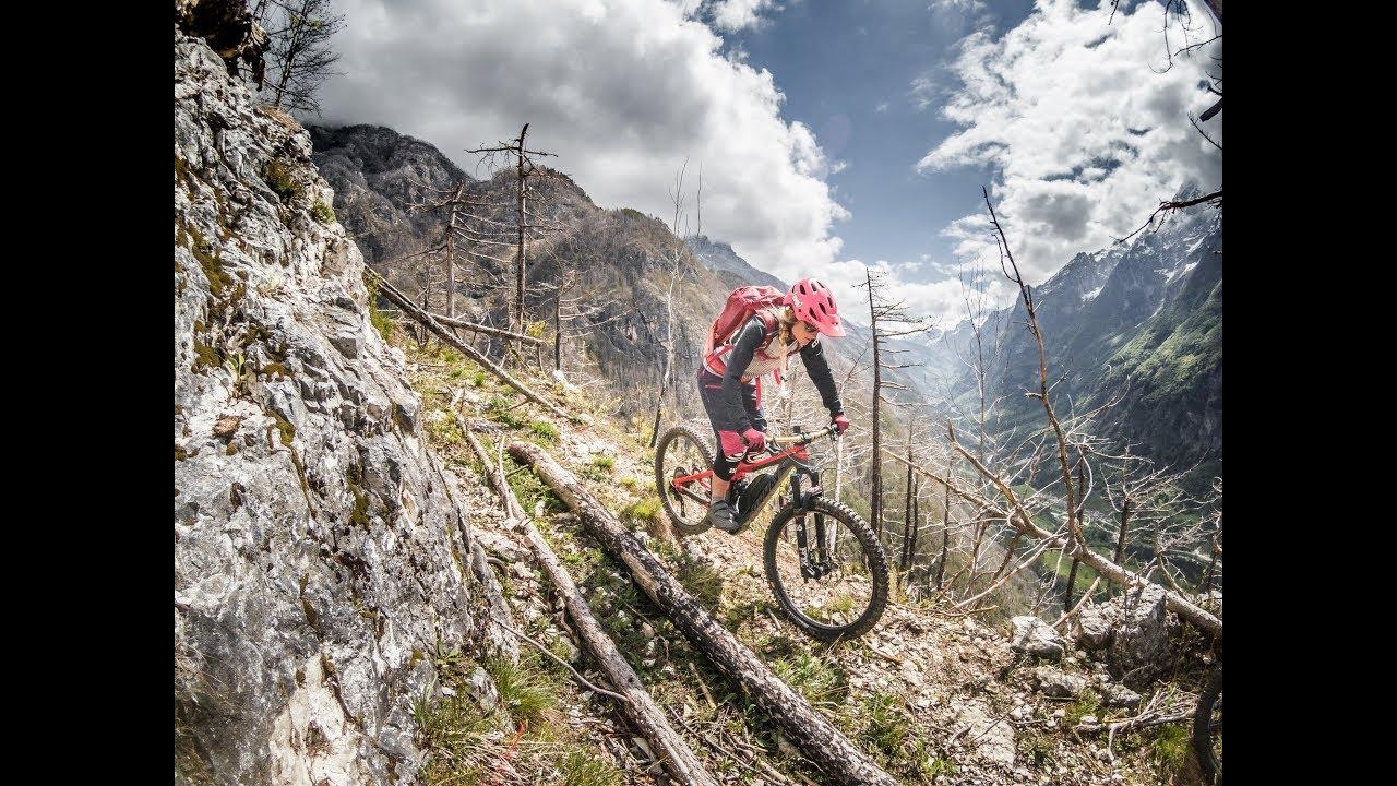 Friaul von seiner besten Seite / Mountainbike Tour Monte Jama Chiusaforte / Bike Pron Girls