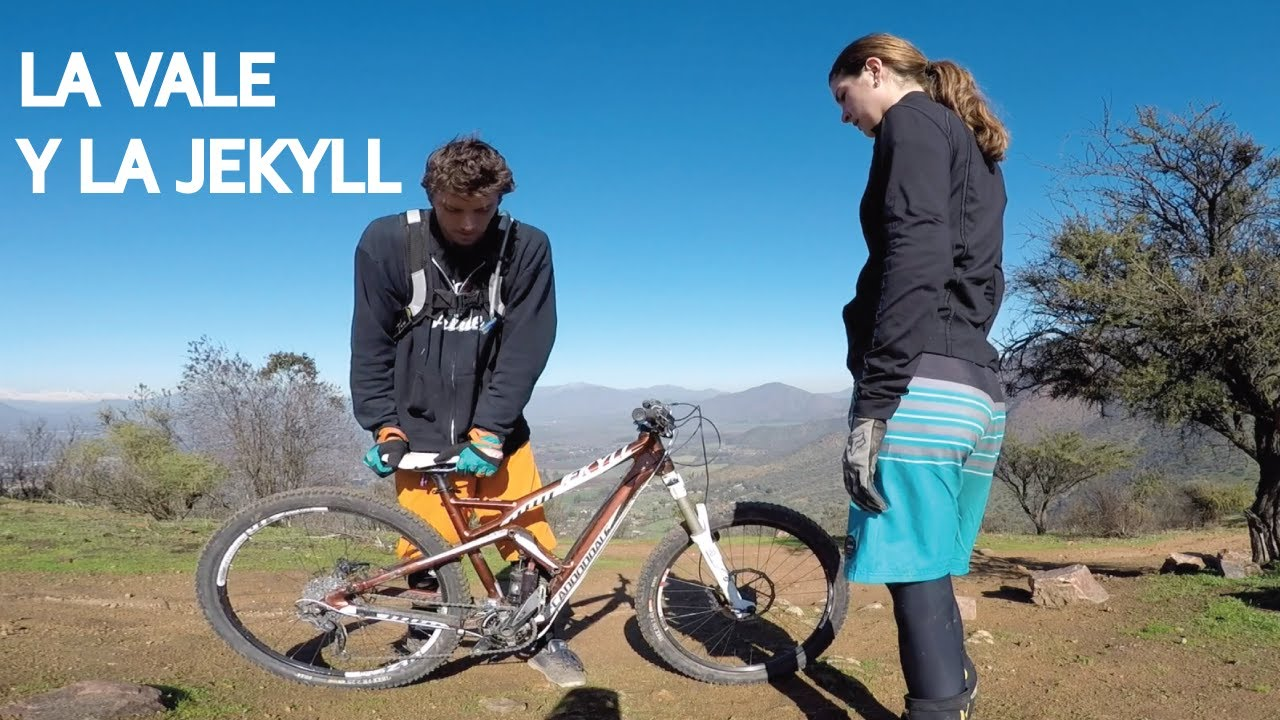 La Valentina Probando una Bicicleta Cannondale Jekyll para Mountain Bike Enduro!