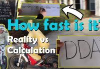 MTB Plan B - Electric motorcycle, How fast is it? And why DDA matters.