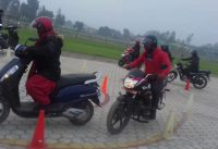 Motor cycle trial in Nepal 2020 Motorbikes new trail system guide In Nepal l Bike trail dine tarika