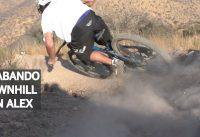 Mountain Bike Downhill en Las Viñas con Alex!