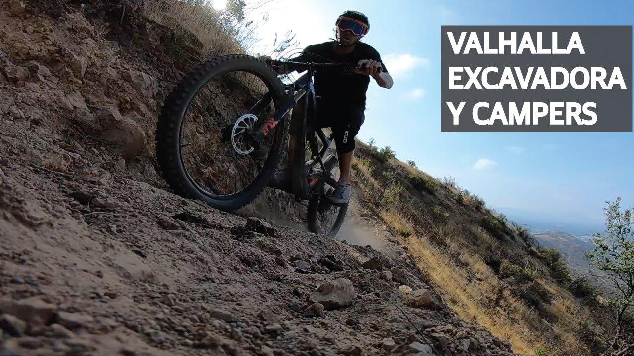 Mountain Bike Downhill en Valhalla, Reparando la Mini Excavadora y Hablando Inglés con los Suizos!