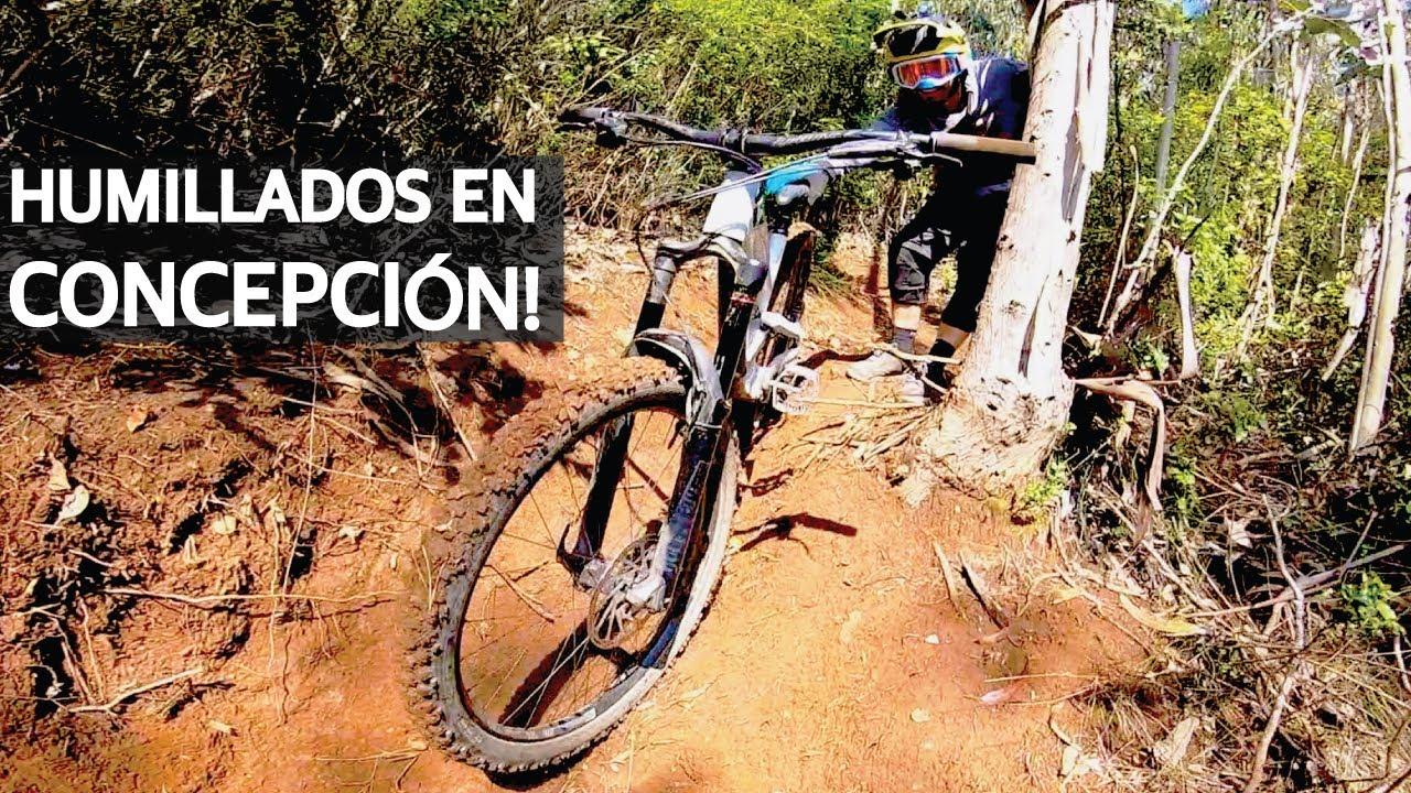 Mountain Bike Enduro, Barro, Caídas en Bicicleta y Humillaciones en Concepción!