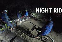 Mountain Bike Enduro de Noche! Fallas de Luces en el Manquehue, Porrazos y GoPros Perdidas!