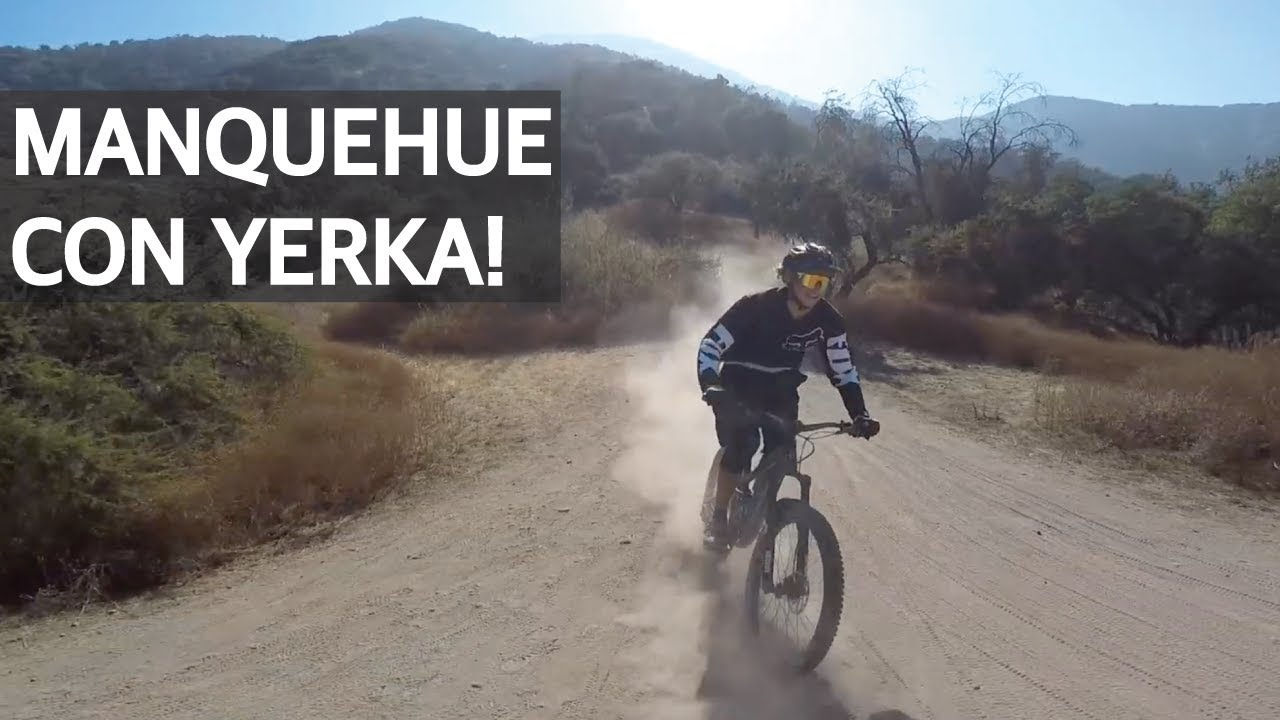 Mountain Bike Enduro en el Cerro Manquehue!