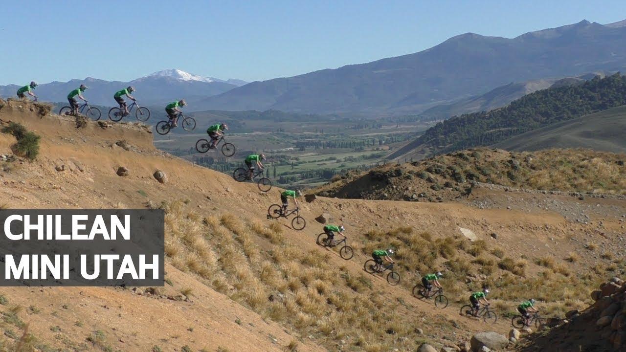 Mountain Bike Freeride en Chile! Gaps, Drops y Wallrides en la Araucanía!