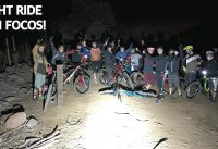 Mountain Bike Night Ride en el Manquehue! Enduro en Bicicletas de Noche con Luces Muy Potentes!