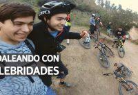 Mountain Bike con un Amigo YouTuber! Equipamiento, Experiencias, Saltos Grandes y Consejos!