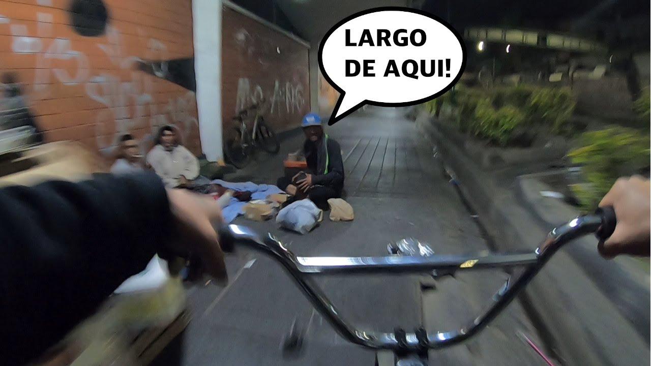 PEDALEANDO DE MADRUGADA A TODA VELOCIDAD EN BMX 3:AM 😱