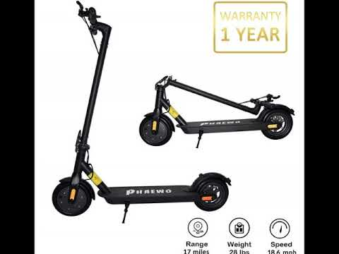 Phaewo Electric Scooter for Adult, 350W Motor 8 5 inch  Non Pneumatic Tires with Disc Brake,