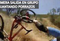Primer Salida de Mountain Bike en Grupo! Caídas en Bicicleta!