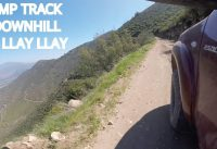 Pump Track y Downhill Mountain Bike en Llay Llay!