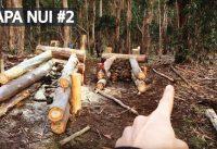 Rapa Nui #2 - Mountain Bike Trail Building con Técnicas Ancestrales! Bicicletas y Saltos!