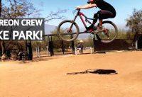 Saltos y Bajadas de Mountain Bike con Patreon Crew en el Bike Park El Durazno!