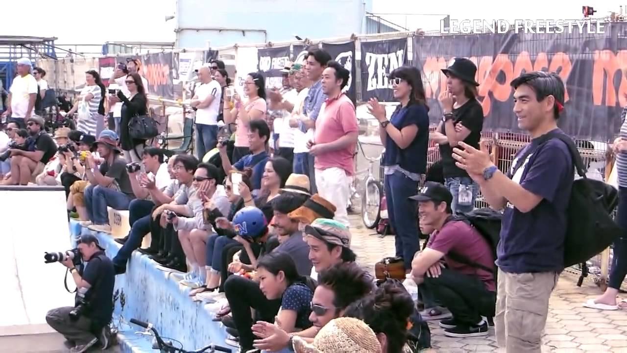 2015 ALL JAPAN LEGEND BMX FREESTYLE@KUGENUMA