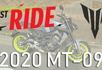 2020 YAMAHA MT-09 TEST RIDE / REVIEW