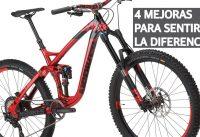 4 Mejoras Económicas Para los Componentes de tu Bicicleta que Sentirás! Upgrades de Mountain Bike!