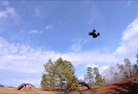 """Arrma Outcast 6s """"PURPLE"""" BMX TRACK BLAST! and mixed rig MOON LAUNCHES!"""