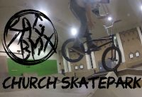 BMX - Alex Riverin and Marc-Alex Plourde at church skatepark 2015