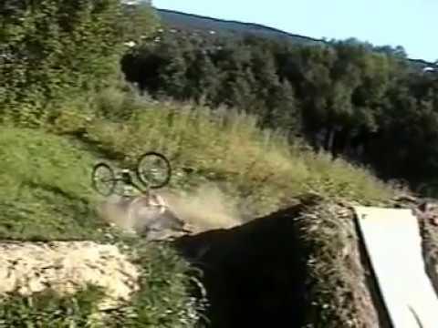 BMX Jump Stunt Horribly Goes Wrong