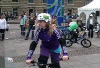 BMX Schule HITS4KIDS Hamburg 2012
