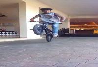 BMX -Team8e-bunny hop bar spin by pravin habib