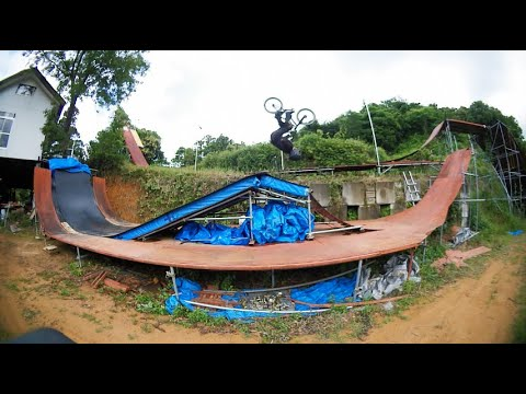 BMX backflip all attempts LW