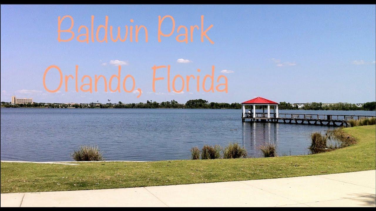 Baldwin Park Orlando, Florida Bike Ride