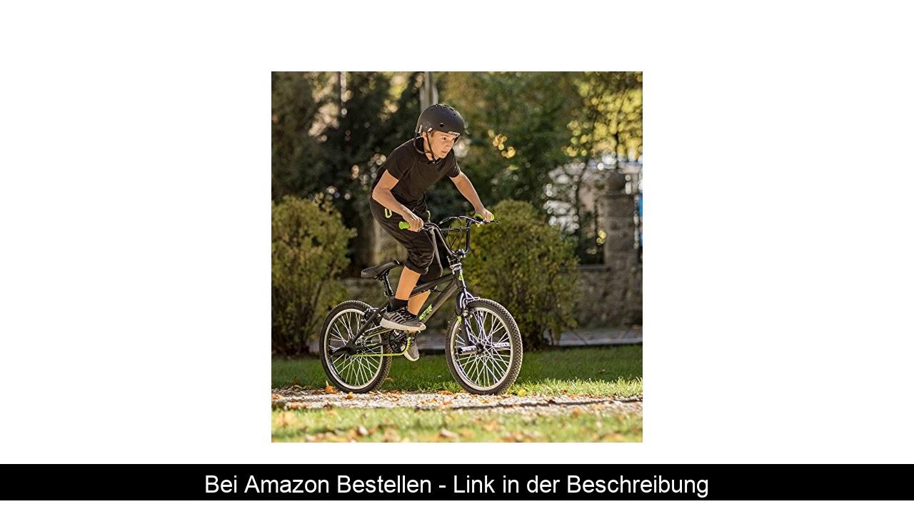 ☄️ Bergsteiger Ohio 20 Zoll BMX, 360° Rotor-System, Freestyle, 4 Stahl Pegs, Kettenschutz, Freilauf