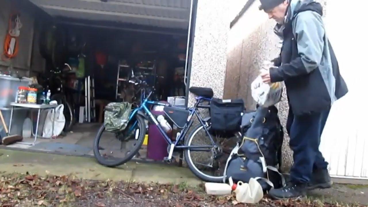 Bike packing test