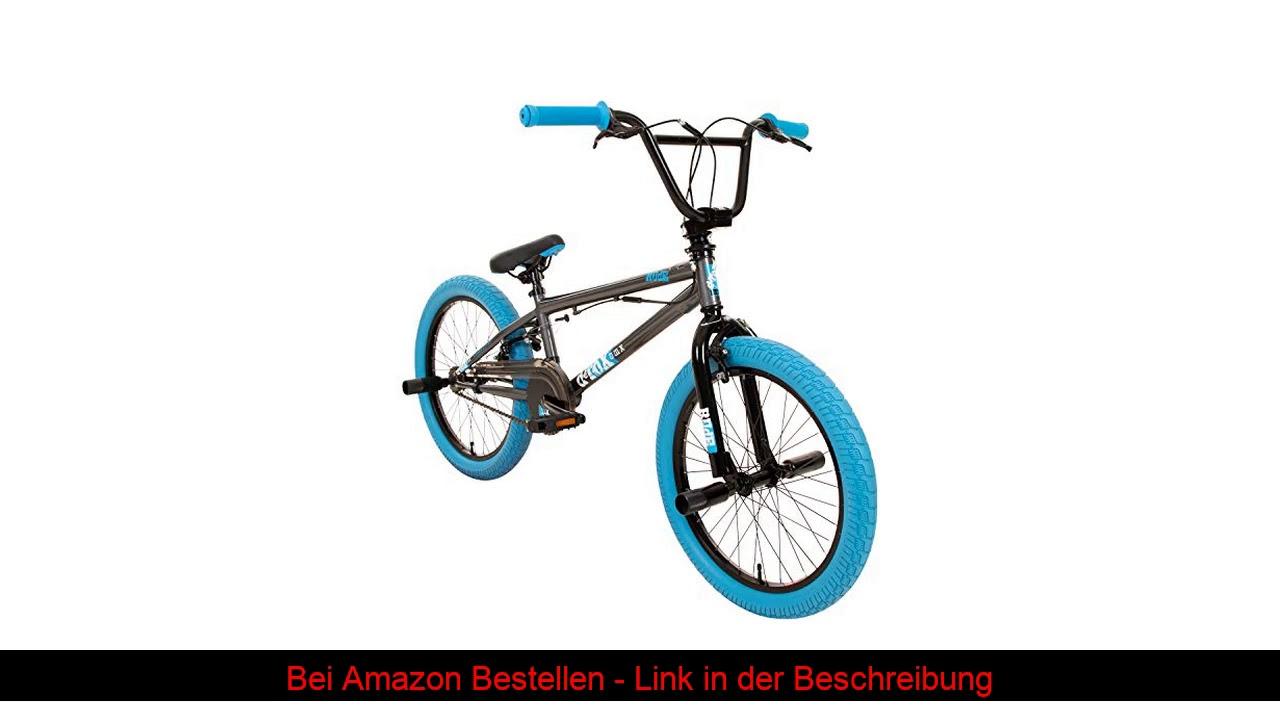 ❄️ DETOX Rude 20 Zoll BMX Fahrrad Bike Freestyle Street Park Rad Modell 2019 Anfänger ab 140 cm 4 x