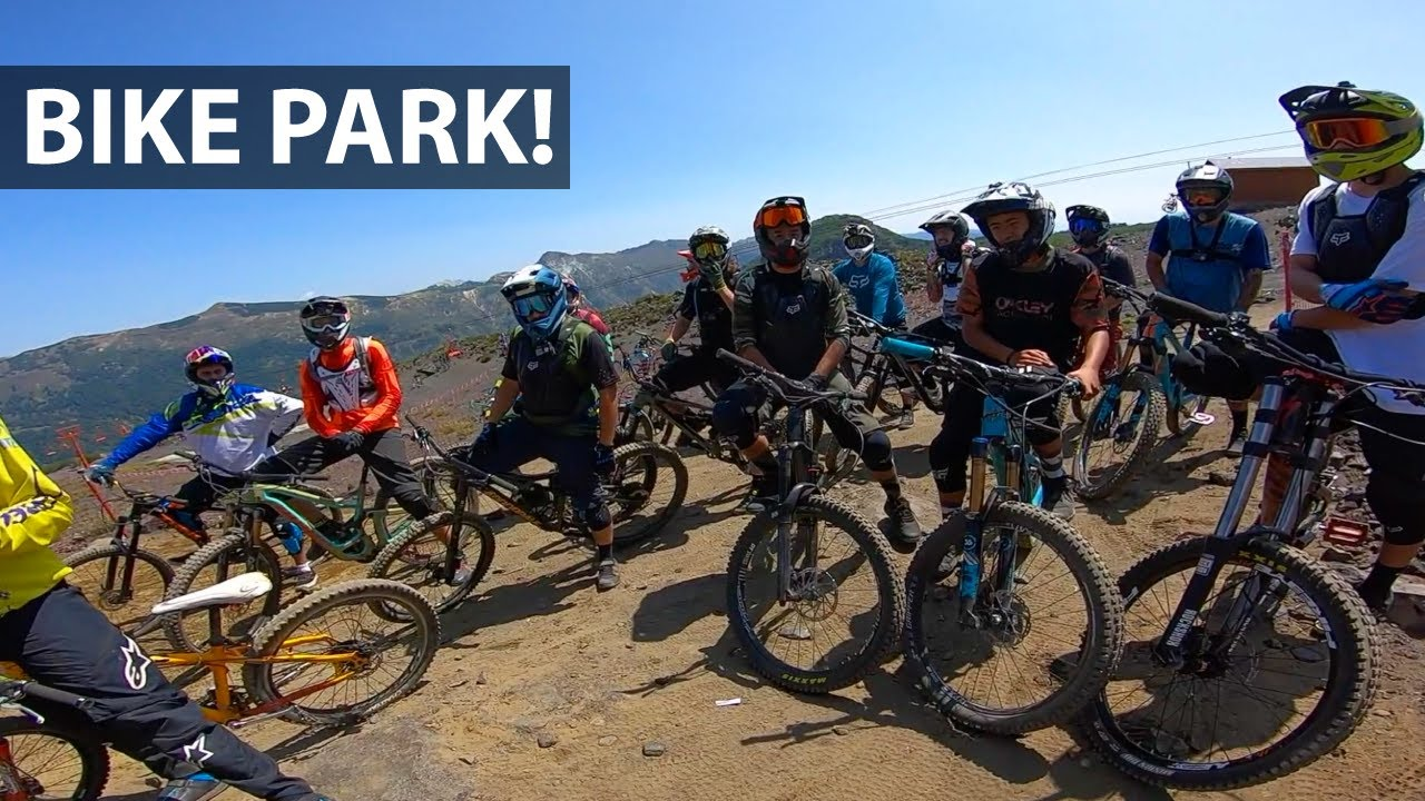 Downhill en el Bike Park de Chillán con Patreon Crew!
