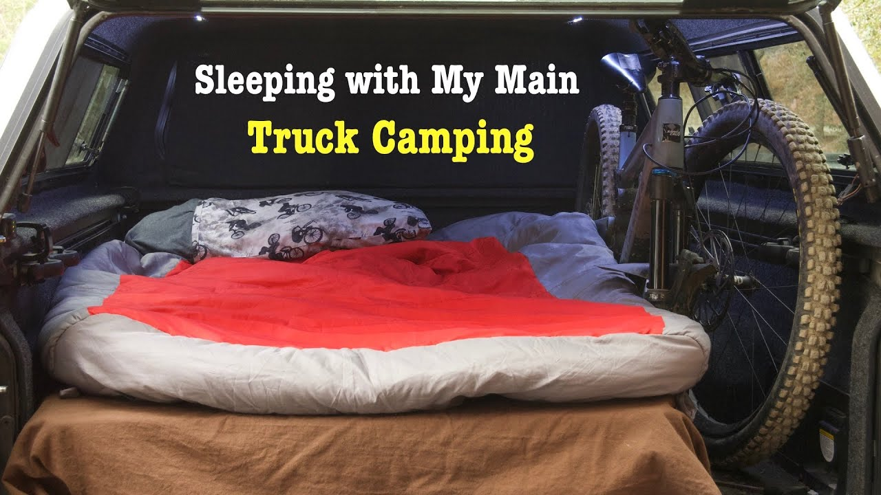 Easy Truck Camping with a Bike