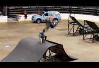 Furchteinflößender BMX Stunt!