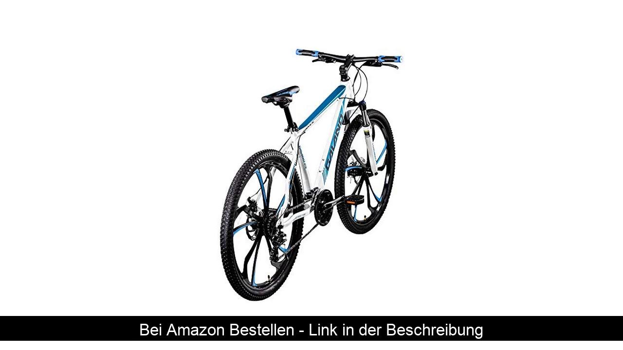 ❄️ Galano 650B MTB Hardtail Mountainbike 27,5 Zoll Primal Fahrrad Mountain Bike (weiß/blau, 48 cm)