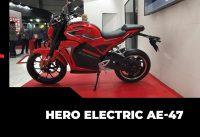 Hero Electric AE-47 पेश | Hero Electric Bike | Auto Expo 2020 | Hindi DriveSpark