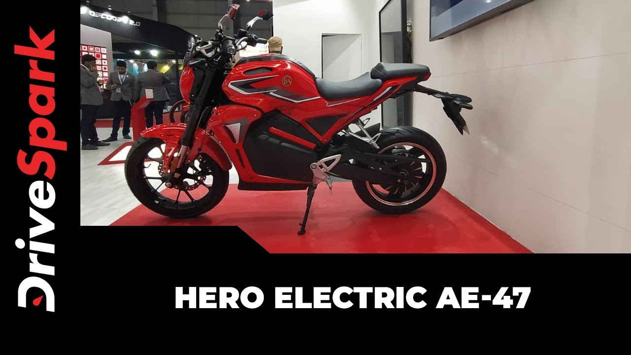 Hero Electric AE-47 पेश | Hero Electric Bike | Auto Expo 2020 | Hindi DriveSpark