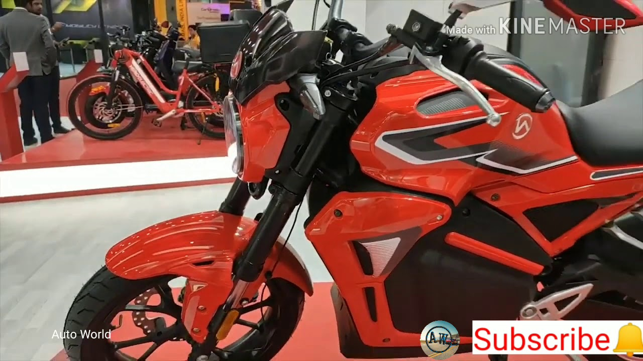 Hero Electric Bike AE-47 in Auto expo l Auto Expo 2020 l Auto Expo 2020 in India l Hindi.