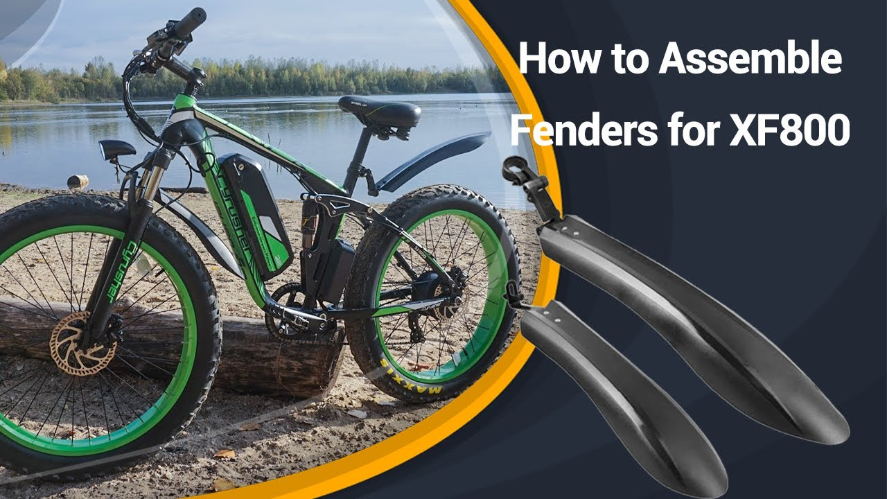 How to Assemble Fenders and Mudguards for Cyrusher Fat Tire Electric Bikes