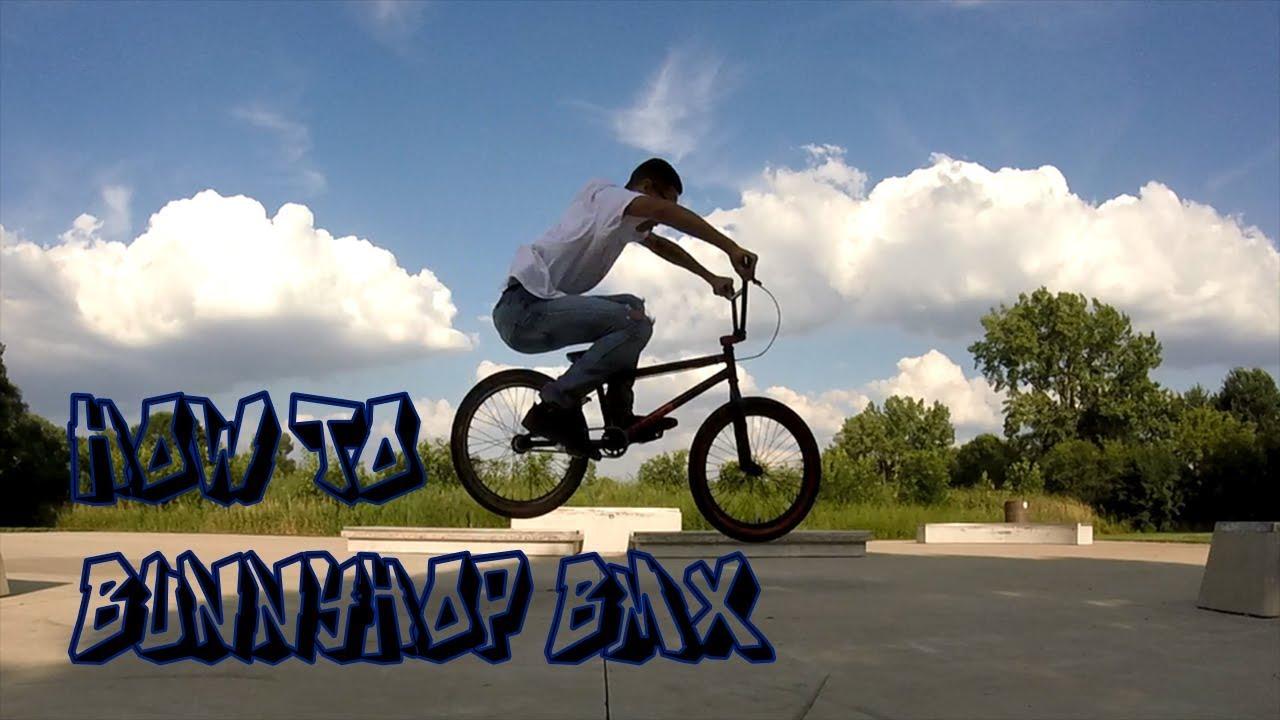 How to Bunny Hop BMX