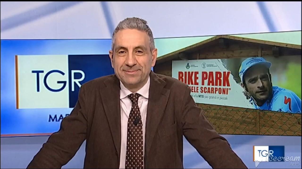 L'Uisp sulla Rai con il servizio del TgR Marche sul Bike Park a Fermignano