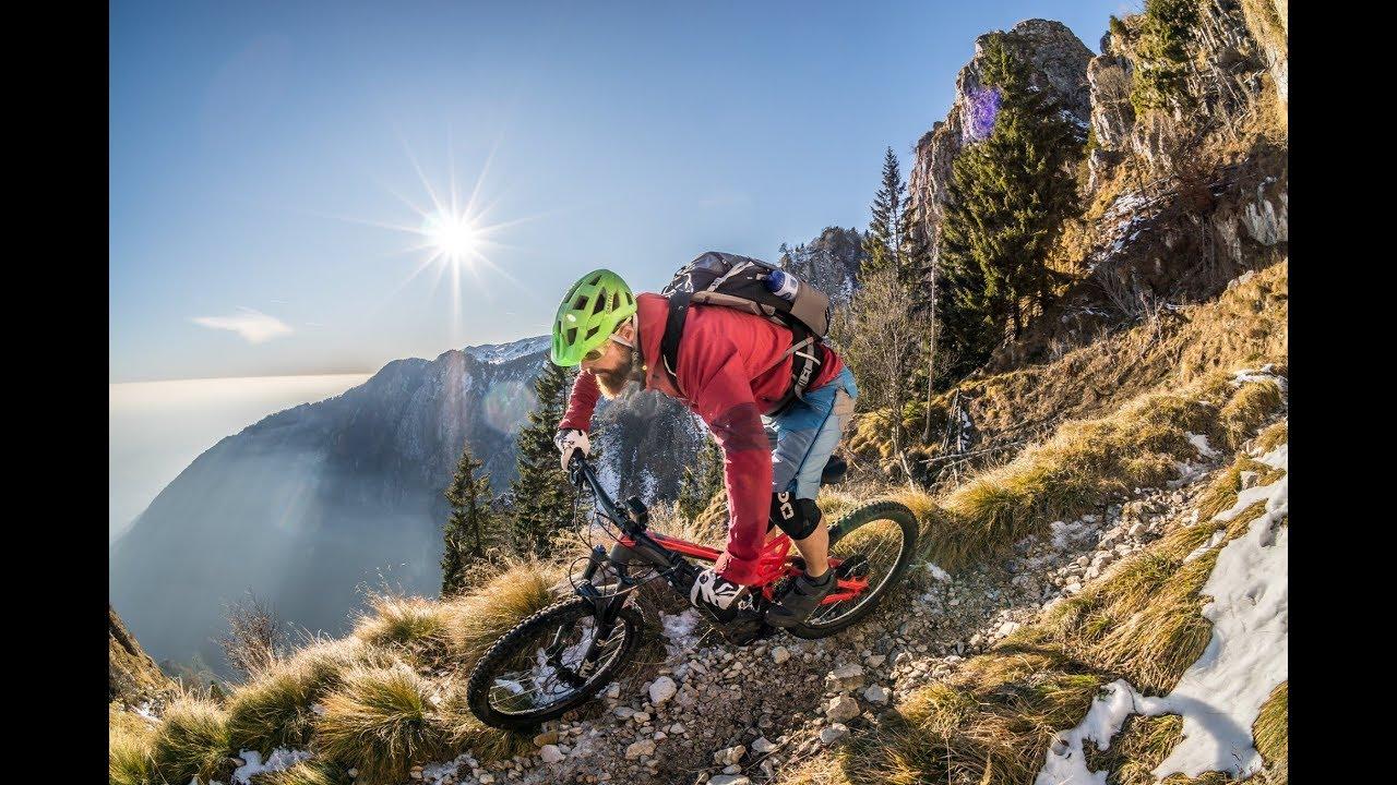 MONTE GRAPPA 1.776 m.ü.A. TAG 1 / Bassano del Grappa / Mountainbike Winter Tour / Crazy Bike Girl